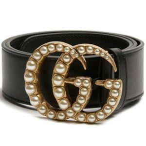 Miranda Kerr Style Leather Gucci Belt